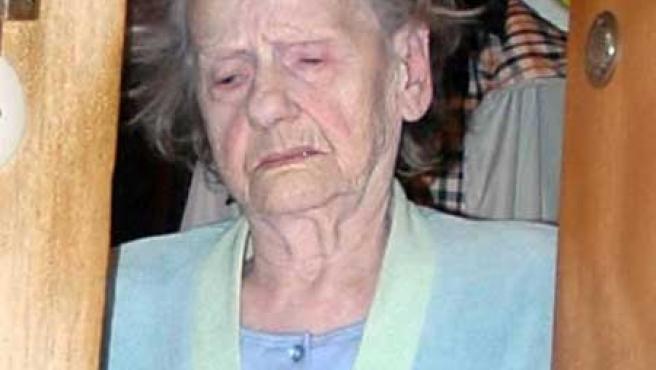 Erna Wallisch, de 85 años y un pasado teenbroso. (FOTO: DAILY MAIL)