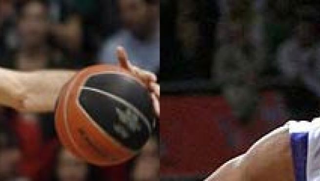 Rudy y Bullock, protagonistas de las semifinales de baloncesto.