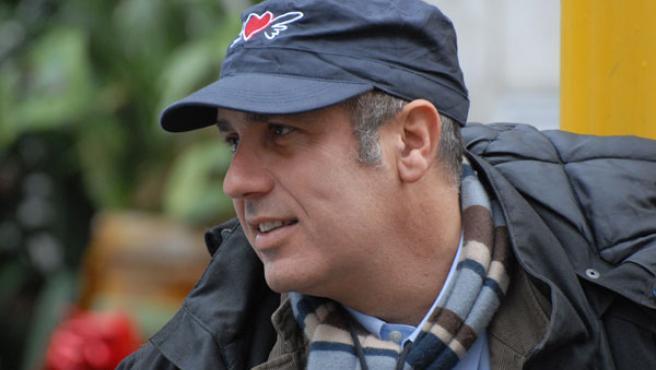 Imagen promocional del escritor Federico Moccia.
