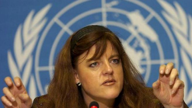 La vicedirectora ejecutiva de UNICEF, Hilde Johnson (EFE).
