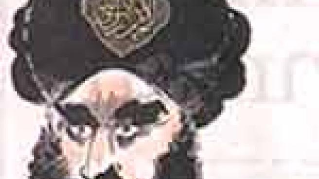 La viñeta de Mahoma con la bomba en el turbante.