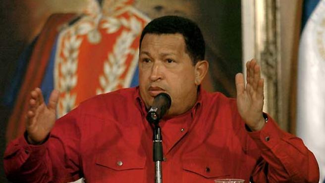 El presidente venezolano, Hugo Chávez. (EFE).