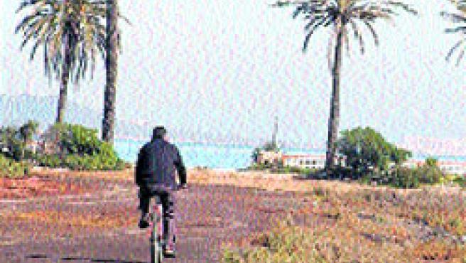 La finca de Lo Poyo está situada muy cerca del Mar Menor.