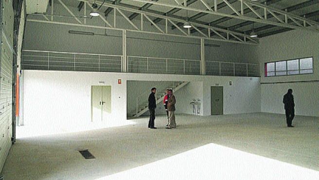 En la imagen, el interior del edificio.
