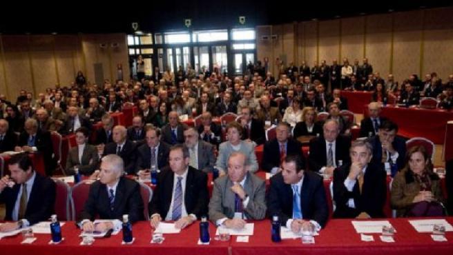 Los empresarios de la Comarca se reunieron el pasado mes de noviembre en las jornadas de Dirigentes.