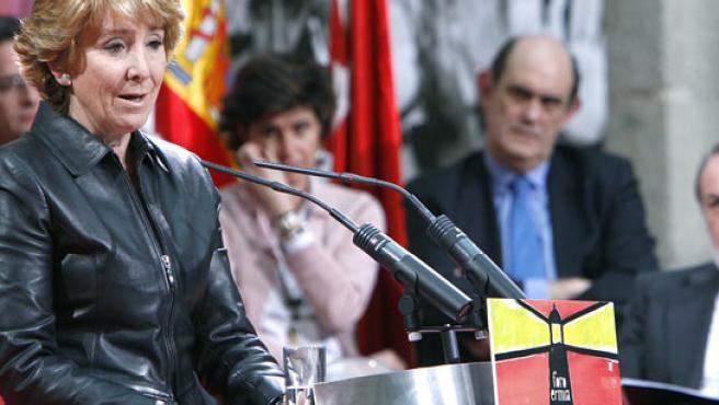 Esperanza Aguirre, en una imagen de archivo (EFE).