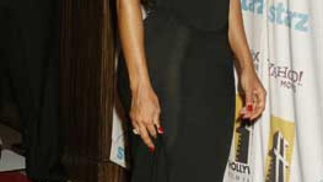 Janet Jackson acude a una entrega de premios.