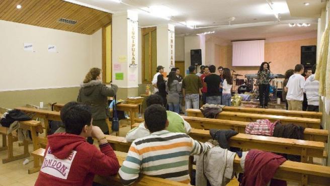 La iglesia evangélica Jesús del Señor está este mes de guardia las 24 horas en Valencia.