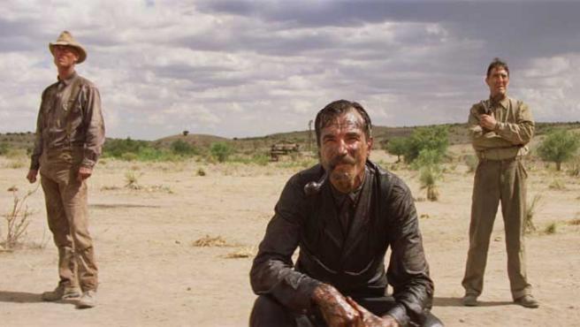 Daniel Day Lewis protagoniza 'Pozos de ambición'.