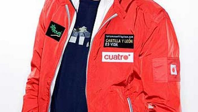 El escalador Jesús Calleja, presentador de 'Desafío extremo'.