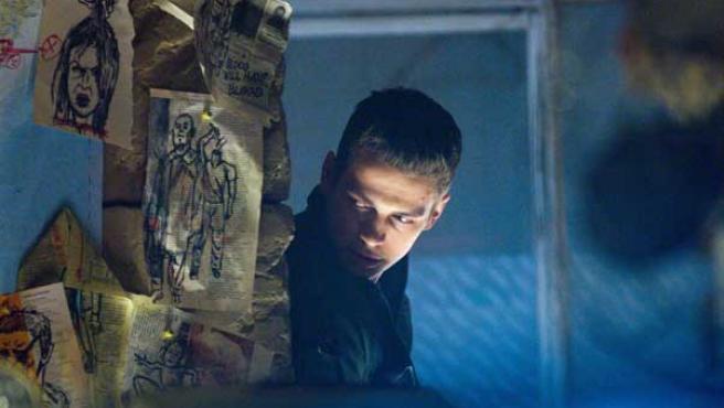 Hayden Christensen en una escena de 'Jumper'.
