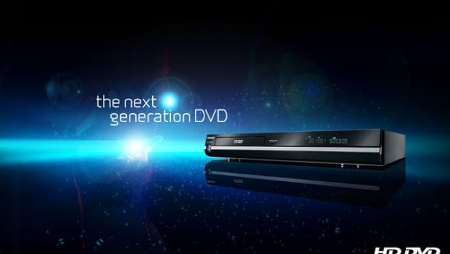 Imagen promocional del HD DVD.