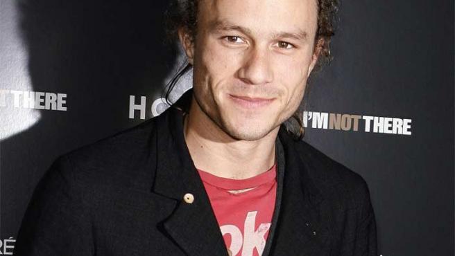 El fallecido actor Heath Ledger.
