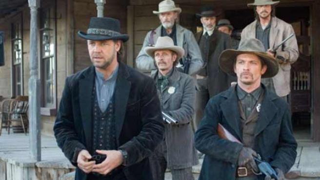 Russell Crowe, uno de los protagonistas de '3:10 to Yuma'.