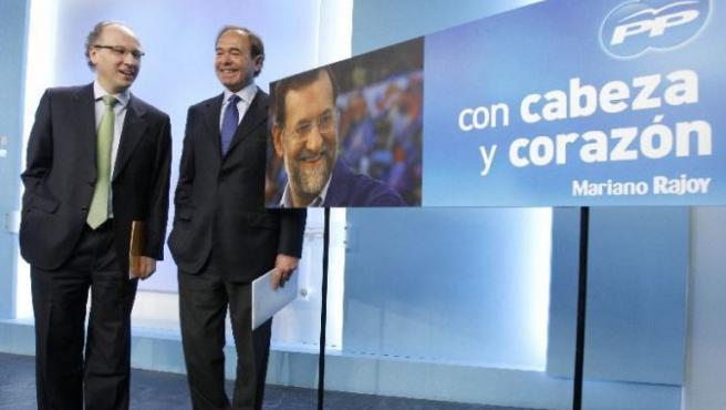 García Escudero y Elorriaga han presentado la campaña (EFE)