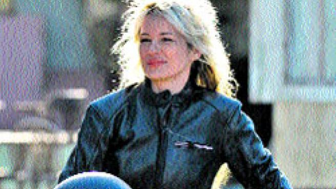 La debutante Kierston Wareing, una de las protagonistas de la película.