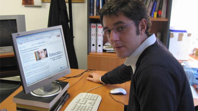 Eduardo Madina, en una imagen de archivo durante un encuentro digital en '20 minutos'