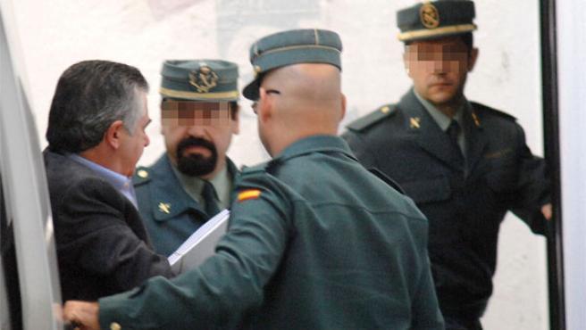 Juan Antonio Roca en los juzgados de Marbella, en una imagen de archivo.