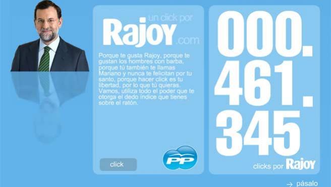 La iniciativa consiste en una nueva función a la que se accede en la página web del Partido Popular.