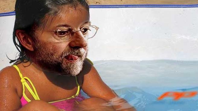 Así ve a la niña de Rajoy el usuario 'movimente' de Flickr.