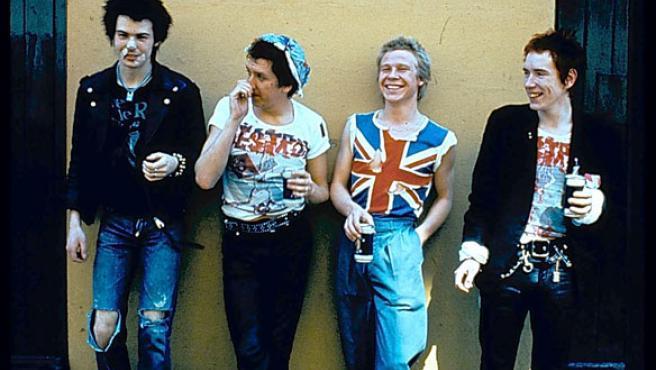 Los Sex Pistols en sus buenos tiempos.