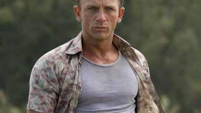 El actor británico Daneil Craig.