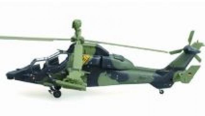 Helicoptero Tiger EC-665 Eurocopter.