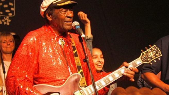 Chuck Berry (ARHIVO)