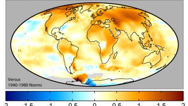Los últimos años han sido los más calurosos desde que se comenzaron a medir las temperaturas, en 1850.
