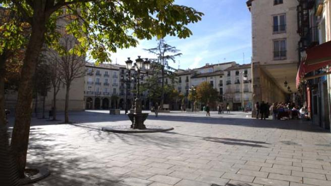 Plaza del Mercado de Logroño.