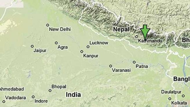 El aparato volvía a Katmandú de Sindhuli.