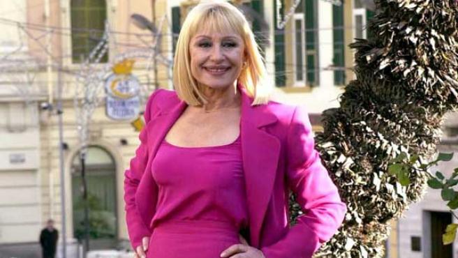 La presentadora italiana, en una foto de archivo.