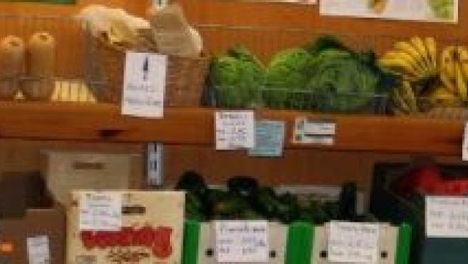Hay infinidad de verduras ecológicas.