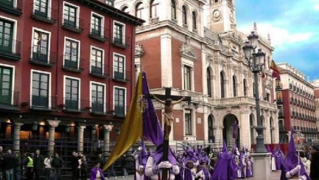 Imagen de una de las procesiones del año pasado.