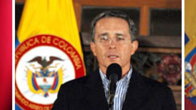Chávez, Uribe y Correa. (FOTO:AGENCIAS)