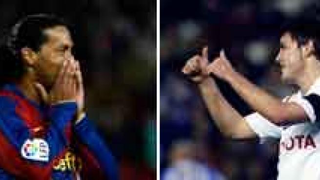 Raúl, Ronaldinho, Villa y el Villarreal, protagonistas de la jornada.