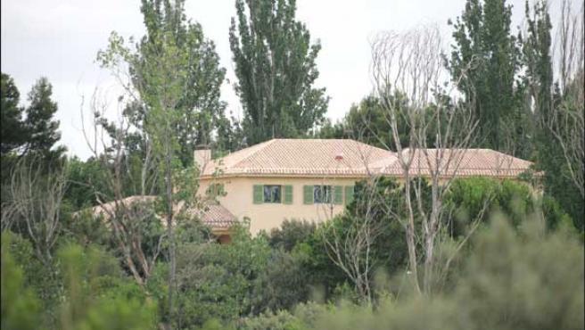 La casa de los Beckham en Madrid. ©KORPA