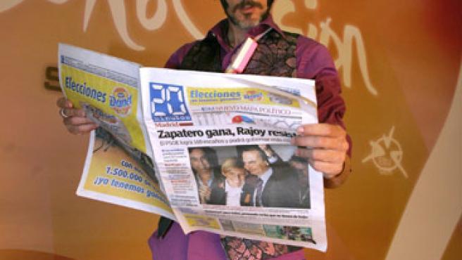 Rodolfo Chikilicuatre, con 20minutos.es.