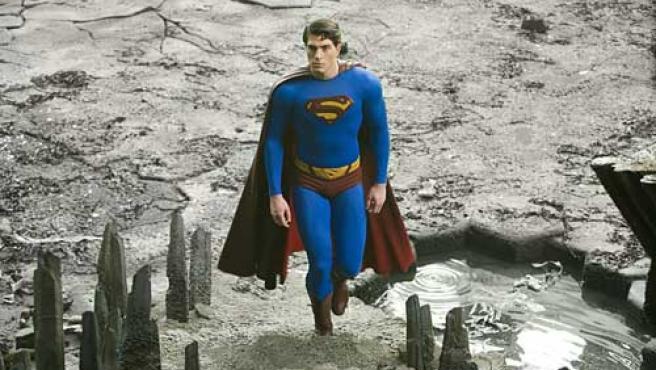 Brandon Routh en el papel del hombre de acero en 'Superman Returns'.