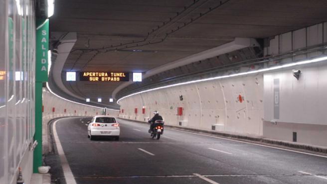 El límite de velocidad en los túneles de la M-30 es de 70 Km/h.
