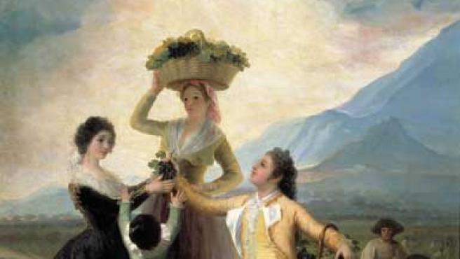 La vendimia, de Francisco de Goya y Lucientes.