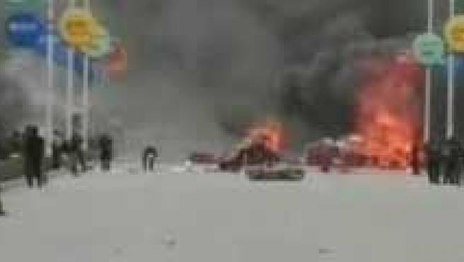 Los disturbios en el Tíbet han dejado varios muertos este fin de semana. (AGENCIAS)