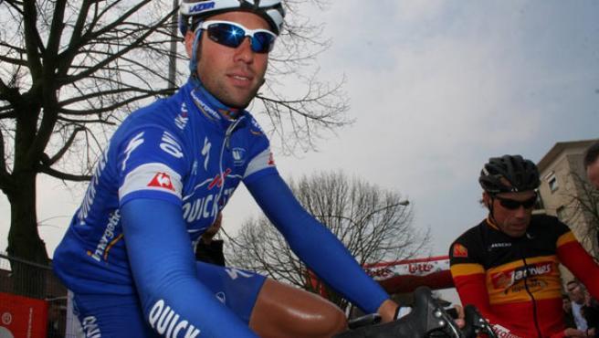 El ciclista belga Kevin Van Impe. (ARCHIVO)