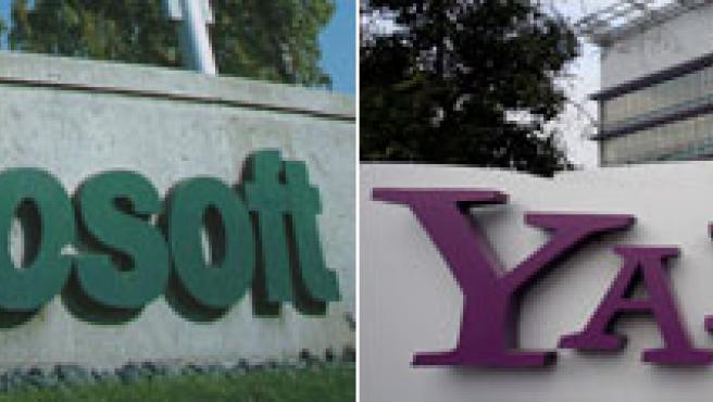 Sedes de Microsoft y Yahoo.