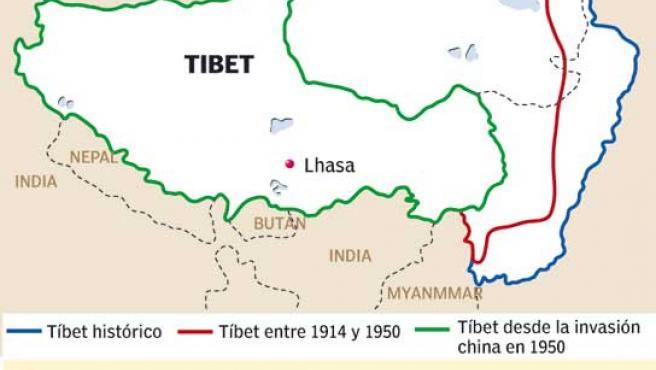 Las Cinco Claves Del Conflicto Del Tibet