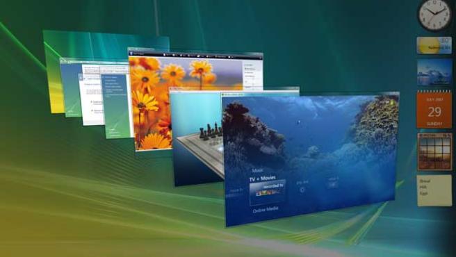 Imagen del sistema operativo de Microsoft