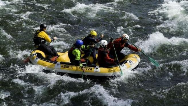 Rafting por el Noquera Pallaressa.