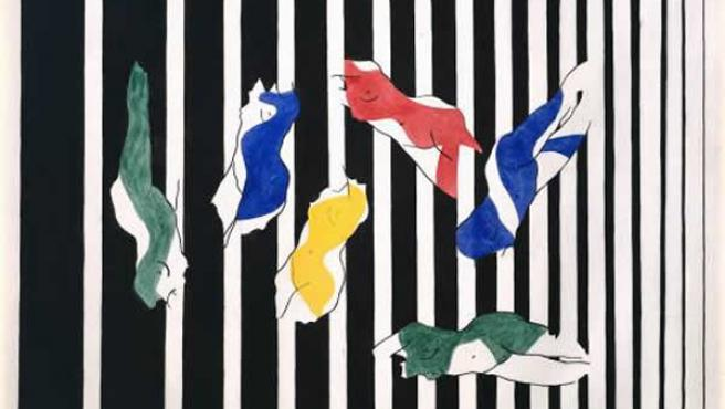 Uno de los trabajos en los que Picabia explora la profundidad.