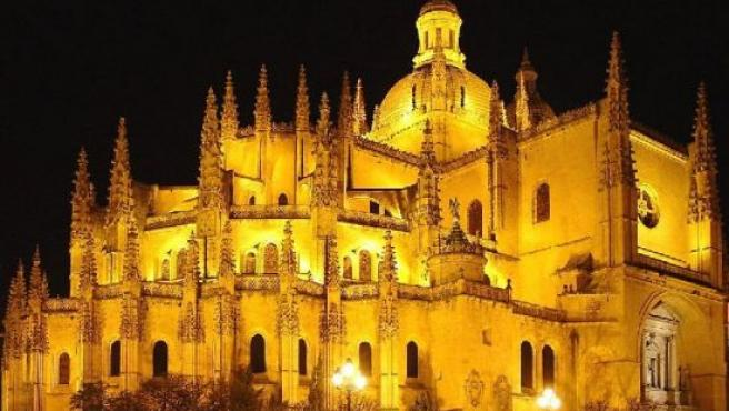 La Catedral de Segovia, sede del obispado.