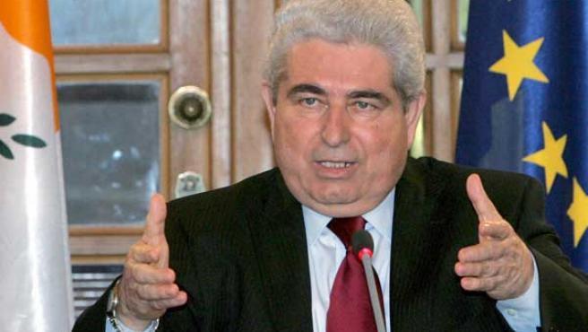 Dimitris Christofias (AGENCIAS).